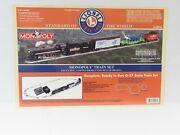 Lionel 6-52218 Monopoly Eastwood Limited Production Steam Loco Set Sealed Nib