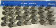 7 Adel Exacto Cushioned Insulated Alum Pipe Clamps Airplane Aircraft Aviation