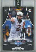 2018 Panini Instant Wild Card 11 Mason Rudolph - Real 1 Of 1