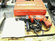 Hilti Tad 500 Electric Chain Link Tool W Box Made In Switzerland Used 115 V.