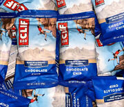 40 Chocolate Chip - Clif - Energy Organic Rolled Oats Protein Bars