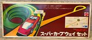 Hot Wheels Red Line Sizzlers Japanese Super Curve Way Track Set In Box 1971 Mib