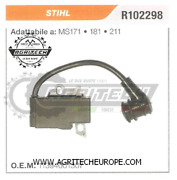 11394001307 Coil Electronic Control Unit Chainsaw Stihl Ms171 181 211