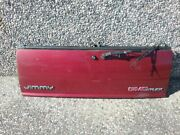 Trunk/hatch/tailgate Lower Burgundy Fits 95-05 Gmc Blazer S10/jimmy S15 101rm