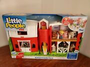 Fisher-price Little People Animal Friends Farm Gift Set Of 7 Figures