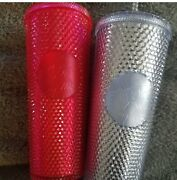 Starbucks Holiday Tumbler 2019 Set Of Both Tumblers Sold Out Christmas Cups