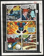 New Gods 4 Production Art Hand Colored Signed Jack Kirby Anthony Tollin Coa Pg 8