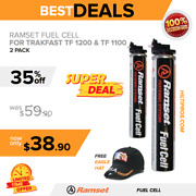 Ramset 2x Fuel Cell For Trakfast Tf 1200 And Tf 1100 New Free Hat Fast Ship