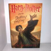 Rare Mint Harry Potter And The Deathly Hallows First Edition 1st Print