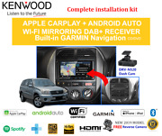 Kenwood Dnx9190dabs Stereo Upgrade To Suit Toyota Rav4 2001-2005