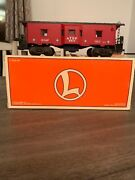 Lionel 6517 At And Sf Bay Window Caboose 6-19732 Illuminated Interior Die-cast