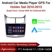9andrdquo Android 9.1 Car Stereo Media Player Gps Head Unit For Holden Sail 2010-2013