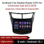 9andrdquo Android 9.1 Car Stereo Player Gps Head Unit For Chevrolet Sail 2015-2018