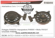 692696 Carter Starter Complete Engine Briggs And Stratton Series 13 5-hp