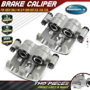 2x Brake Calipers Front For Iveco Daily Mk Iii Mk Iv 1999-2011 2.3l 2.8l 3.0l