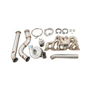 Cxracing Thick Wall Turbo Manifold Kit For Nissan Skyline R32 Gt-r Rb26det