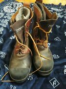 Steel Shank Leather Duck Boots Thinsulate Thermal Men Size 9