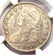 1814 Bust Half Dollar 50c O-103 - Ngc Xf Detail Ef - Rare Date Certified Coin