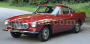Volvo P1800 Red Indoor Fabric Car Cover 1961-73 New