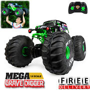 Grave Digger Monster Jam 16 Truck Remote Control Rc Racing Car Kid Gift New