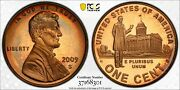 2009-s Lincoln Cent Professional Pcgs Pr68rd Dcam Penny Rainbow Toned Color Mr