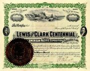 Lewis And Clark Centennial And American Pacific Exposition And Oriental Fair - S
