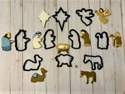 Christmas Manger Cookie Cutters