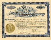 Pirate Gold Mining Company - Extremely Rare