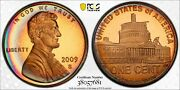 2009-s Lincoln Cent Presidency Pcgs Pr67rb Rainbow Color Neon Toned Unc Dr