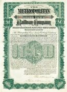 Metropolitan Cross-town Railway Company Signed By Peter A. B. Widner - 1,000 -