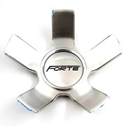 Forte Machined Snap-in 5 Lug Center Cap For F71 Mistress Wheels P/n 12632085f-1