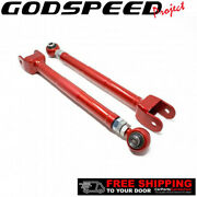 Godspeed Project Adjustable Rear Toe Arms With Bucket Delete For 350z 03-09