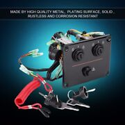 12v Oem Dual Key Ignition Twin Switch Panel Kit For Yamaha Outboard Motor Yacht