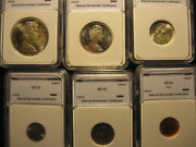 1966 Canada Mint State Coin Set Ms-65