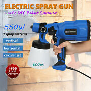 Electric Paint Sprayer / Spray Gun For Painting Fences Decking Walls Ceiling Car