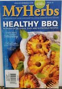 My Herbs Issue 13 Healthy Bbq Nutritious Recipes Diy Remedies Free Shipping Cb