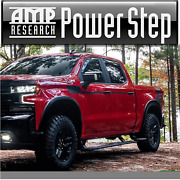 Amp Powerstep Running Boards For 2019-2020 Silverado Sierra All Cabs 76254-01a