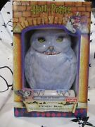 Harry Potter Hedwig Mechanical Tin Bank By Schylling 2001, New In Box