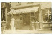 Rppc Gas Station Store Larrys Creek Pa Lycoming County Real Photo Postcard