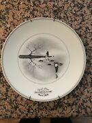 Original Abercrombie And Fitch 1956 Federal Duck Stamp Commemorative Plateandnbsplimoges