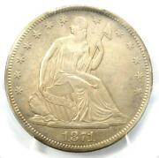 1871-cc Seated Liberty Half Dollar 50c Coin Wb-4 - Certified Pcgs Au Details