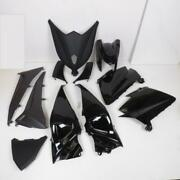 Fairing Kit P2r For Scooters Yamaha 530 Tmax 2012 To 2014 Matte Black And Bri