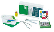 Coltene Hygenie Dental Rubber Dam Complete Kit With Clamps Punch Frame Sheets
