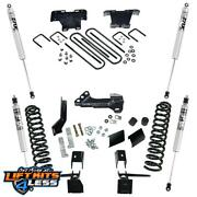 Superlift K165f 4and039and039 Radius Arm Lift Kit W/ Fox Shocks For 2017-19 F-250/f-350 Sd