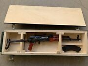 13 Scale Model Rifle Akms Russian Izhmash Izhevsk Hand Made Toy Metal Wood
