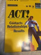 Act 3.5 8 Discs And Cd Customer Business Contact Address Info Mgt Windows Nt 95