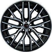 4 Gwg Wheels 20 Inch Staggered Black Flare Rims Fits Mercedes E-wagon Non Amg