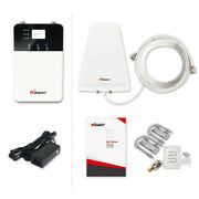 Hiboost Home 10k Plus Cell Phone Signal Booster Kit For Atandt Verizon T-mobile