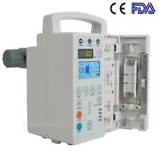 Fda Medical Infusion Pump Iv Fluid Infusion With Audible And Alarm For Human A++