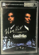 Henry Hill Real Gangster Goodfellas Autographed Signed 8x10 Photo Beckett Bas